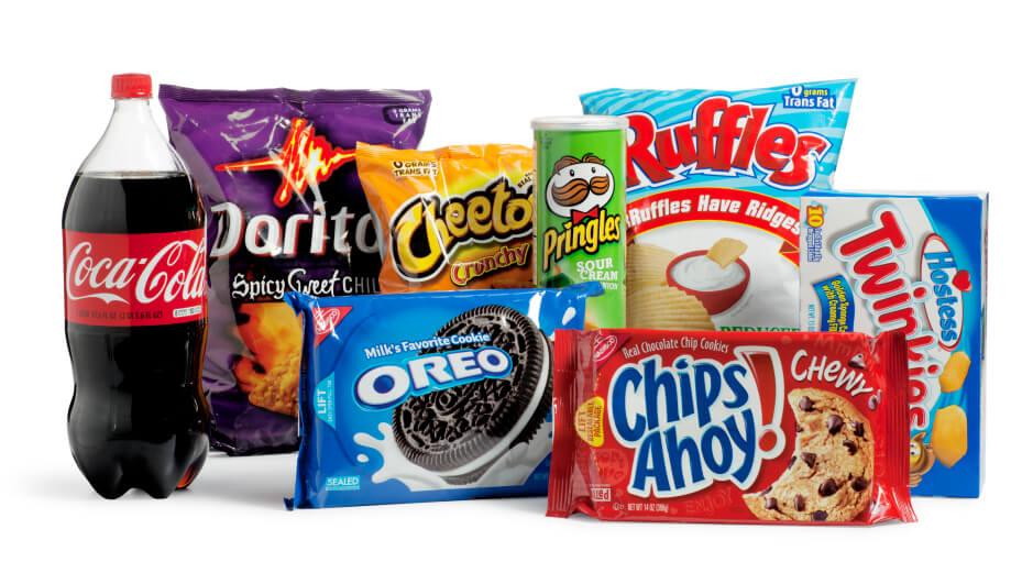 Unhealthy Snacks - holiibags