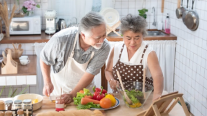 home cooking, health coach