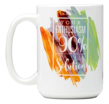 enthusiasm mug