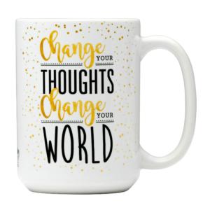 change your world mug