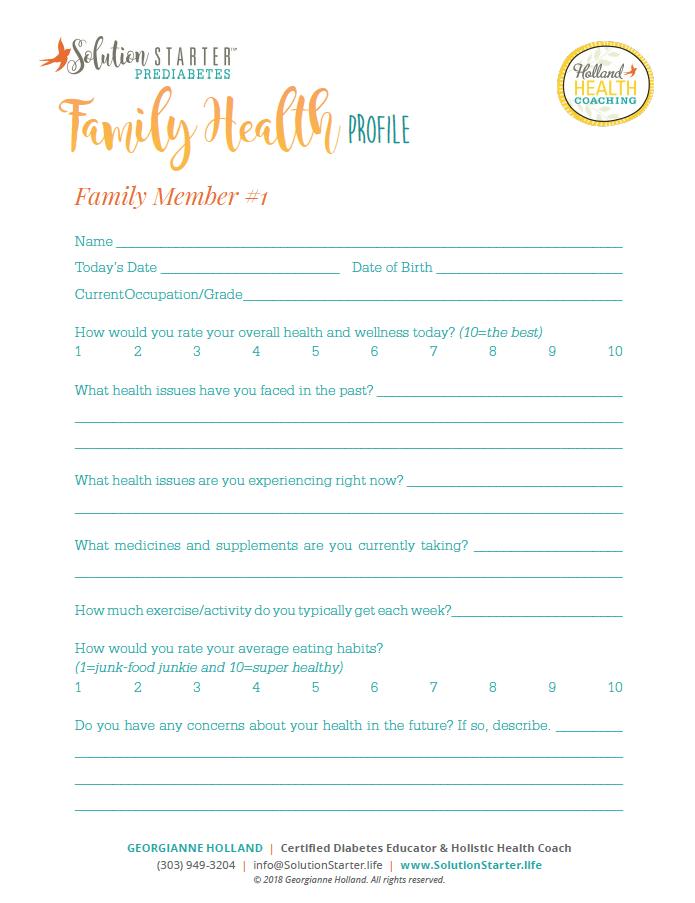 family wellness plan