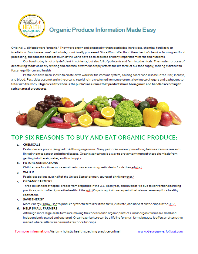 weight loss with produce