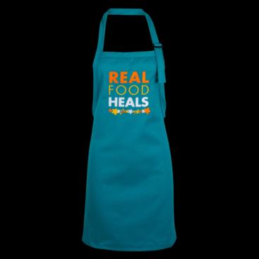 real food heals apron