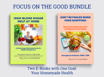 Two books on better health through balancing blood sugar levels.